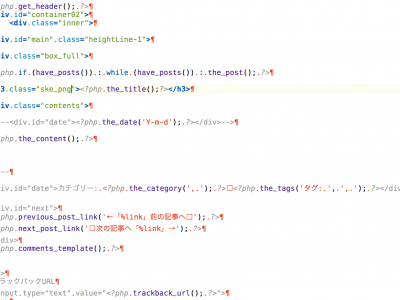 Coda2 でWordPress Syntax Modeを使う方法